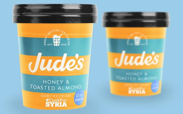 Jude's ice cream is first brand to partner Syrian children's project