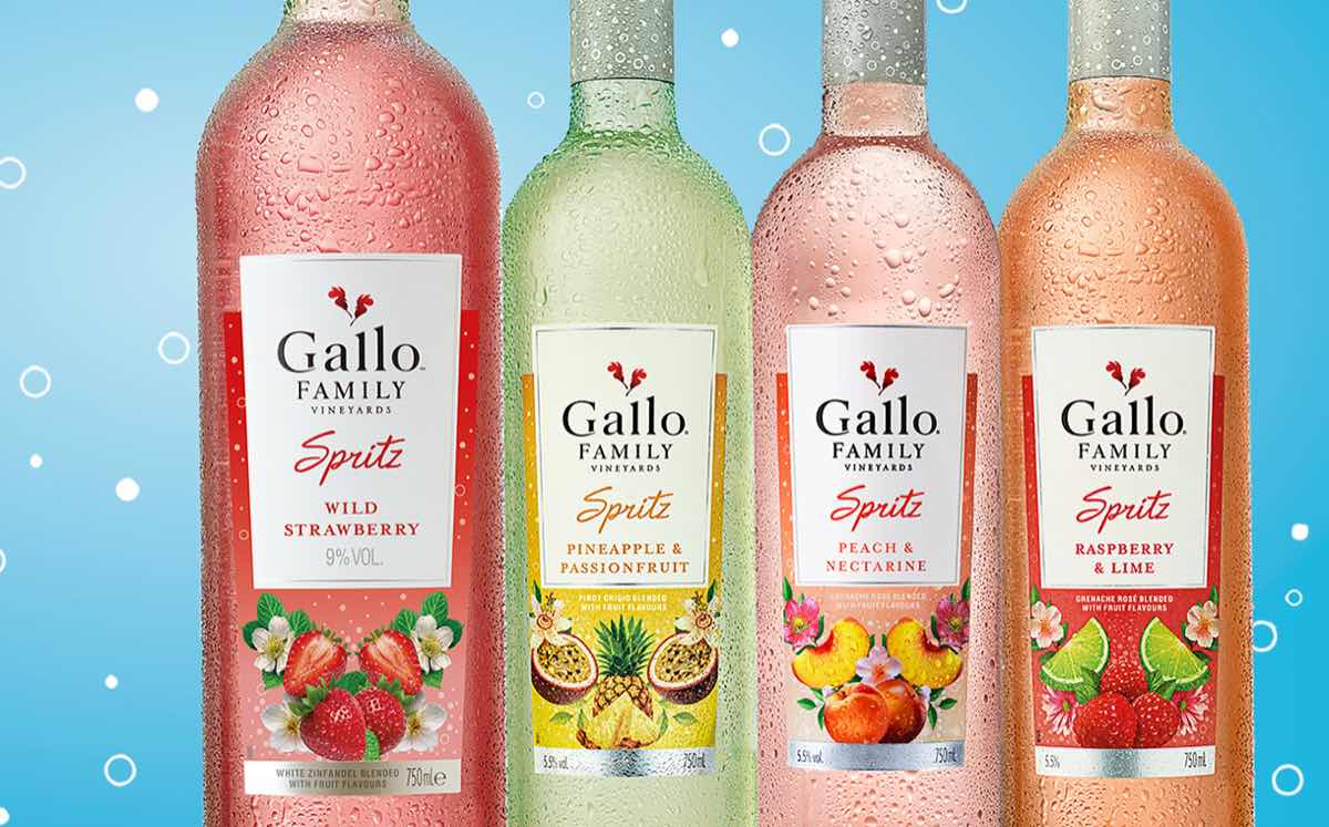 Summer fizz: Gallo Spritz range expands with strawberry variant