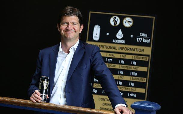 Guinness to put nutritional and alcohol information on can labels