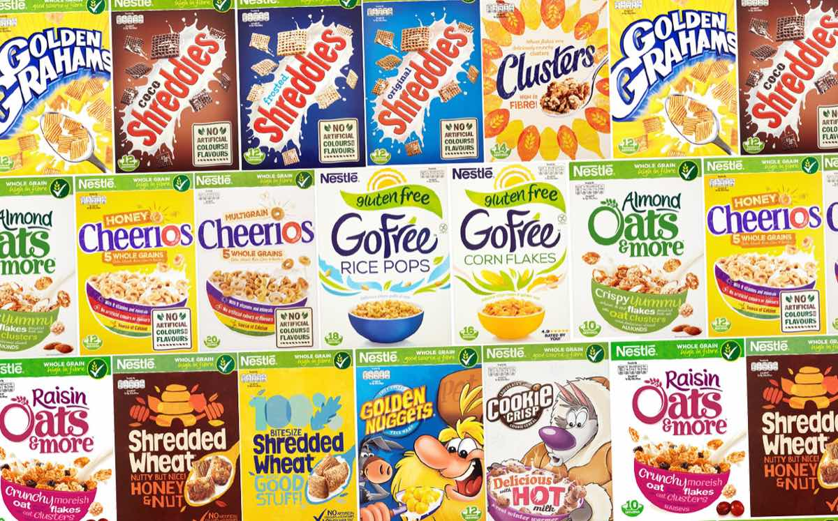 Nestlé Breakfast Cereals adopts colour-coded labelling in the UK
