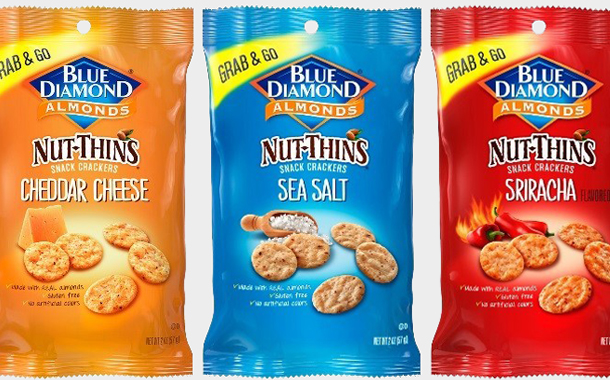 Blue Diamond Growers unveils Nut-Thins sharing snack packs