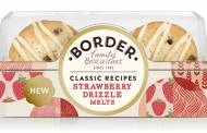 Border Biscuits adds strawberry drizzle melts to its classic range