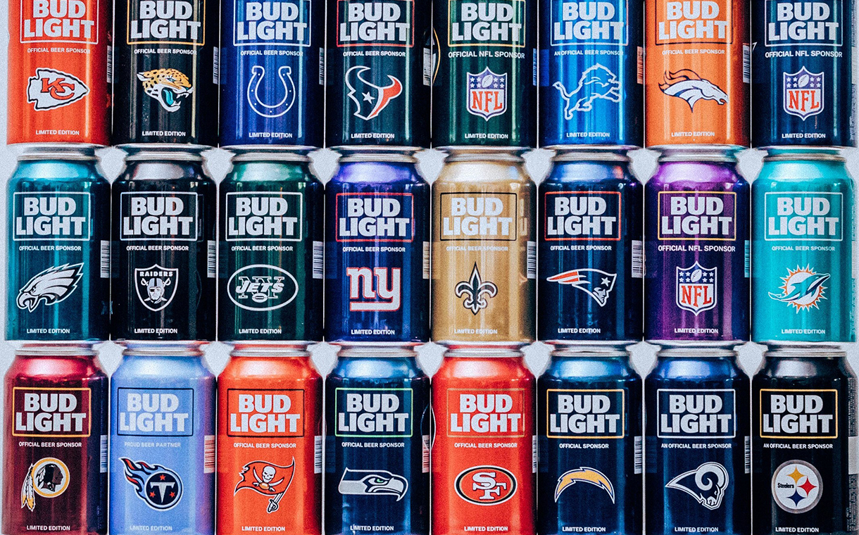 Bud Light Launches NFL Themed Packaging Ahead Of New Season