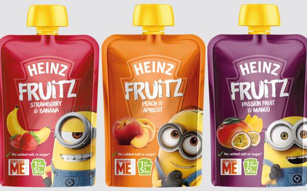 Kraft Heinz targets healthy snacking with Fruitz pouches