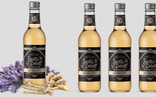 Lurvill's targets adult soft drinks market with new lavender flavour