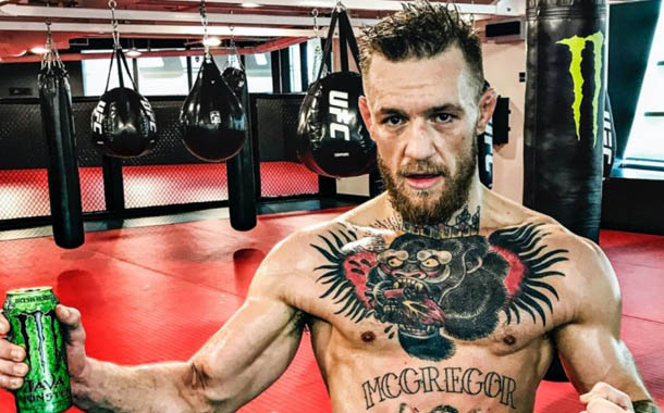 Monster renews partnership with fighter Conor McGregor