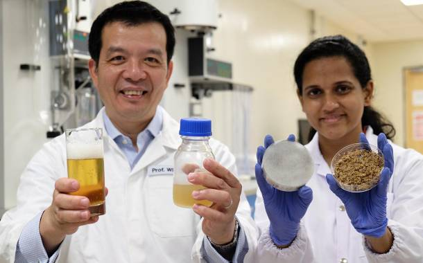Scientists grow yeast for beer making using spent grains