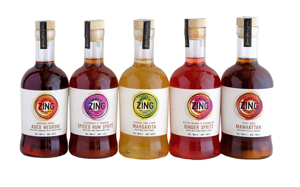 World of Zing relaunches its 'bartender quality' cocktail line