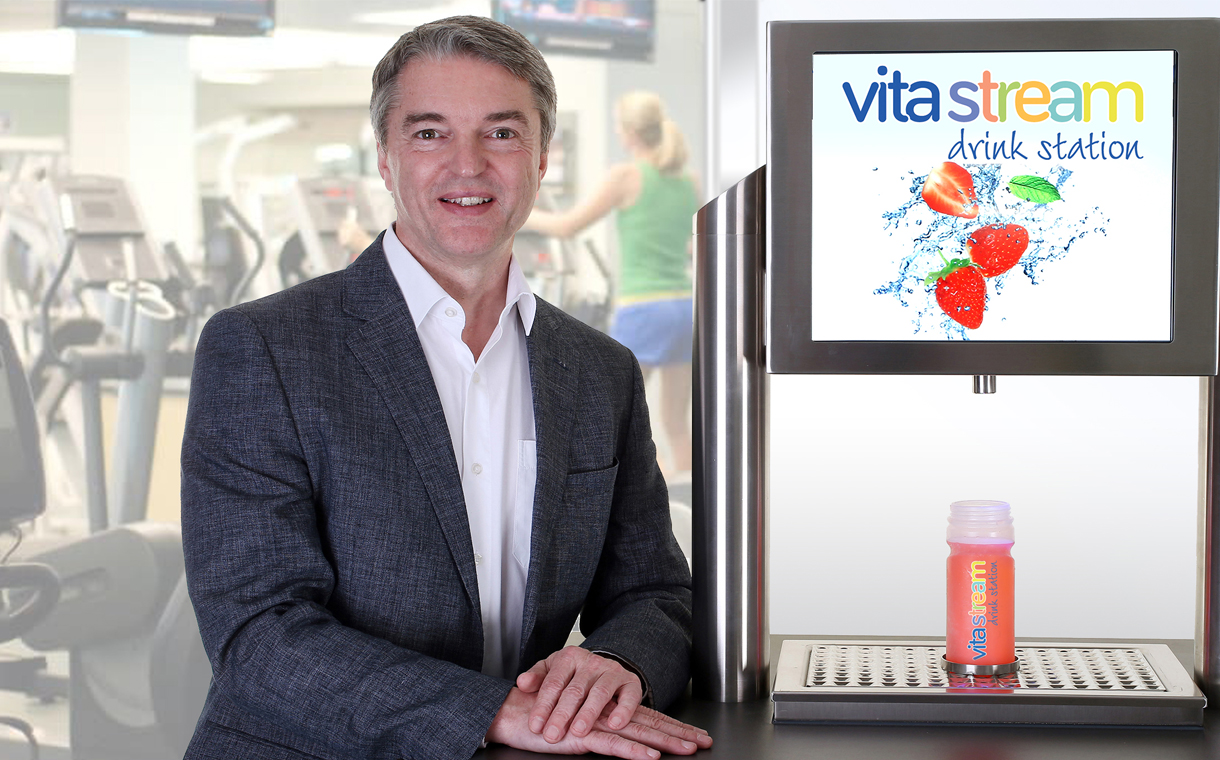 Vitastream drink station offers hydration for health clubs