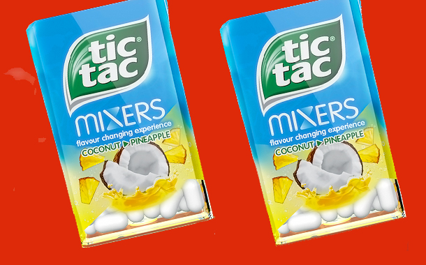 Tic Tac adds tropical twist to its flavour-changing mixers range