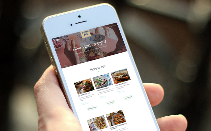 Unilever ups food delivery game with Hellmann's app partnership