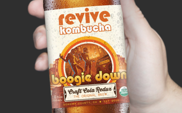 Kombucha brand Revive raises $7.5m in funding led by Peet's