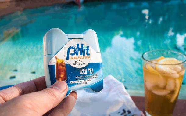 US brand pHit claims to be 'first portable alkaline water enhancer'