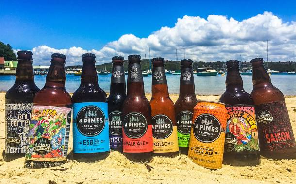 AB InBev acquires 'innovative' Australian brewery 4 Pines