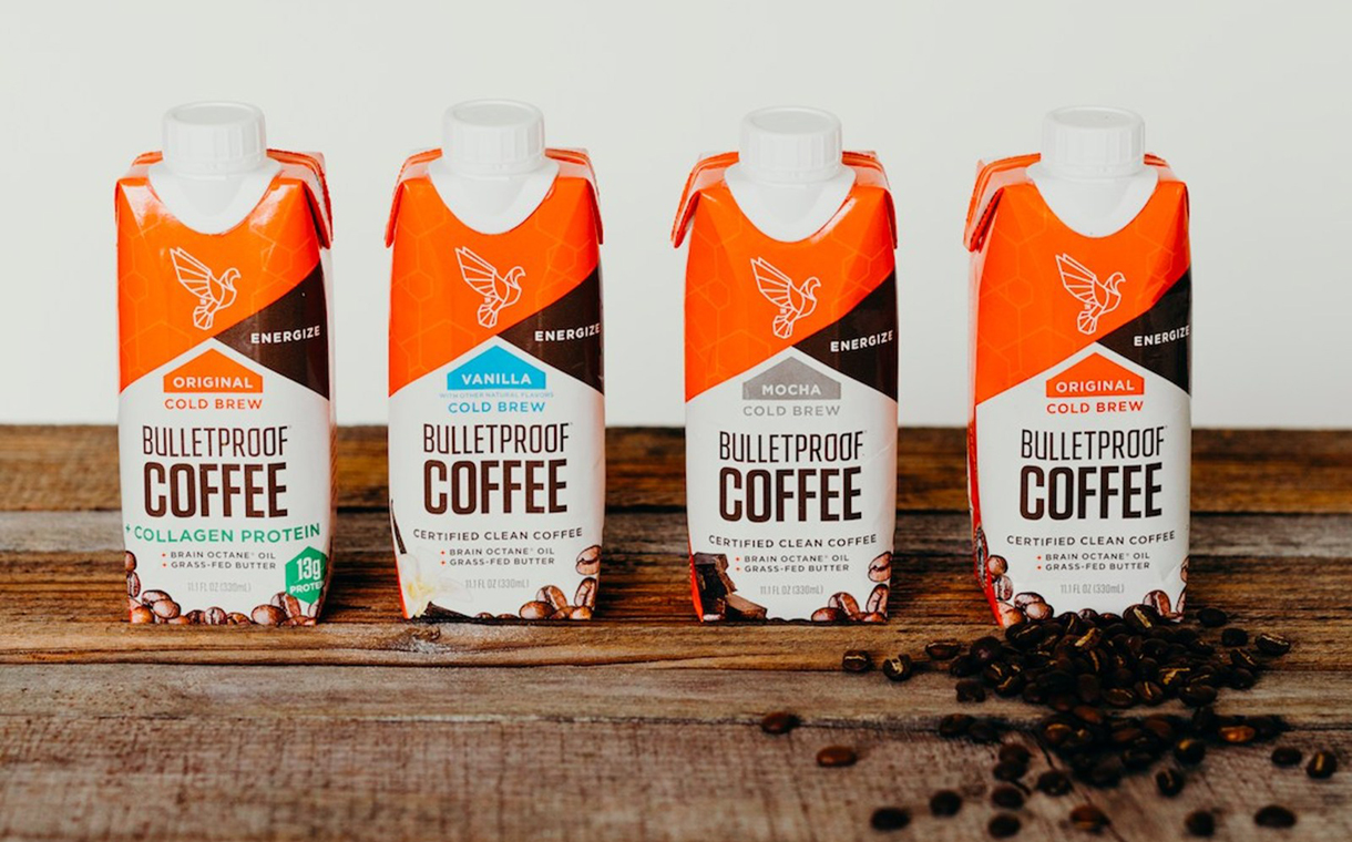 Bulletproof releases cold brew line of ready-to-drink coffee