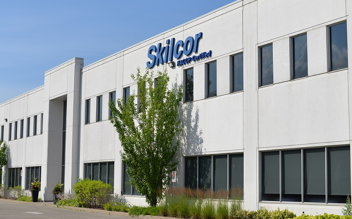 Skilcor operates a specially designed 34,000-square-foot facility in Brampton, Ontario.