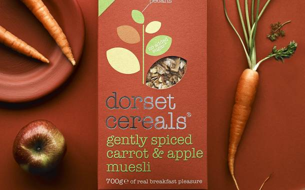 Dorset Cereals launches gently spiced carrot and apple muesli
