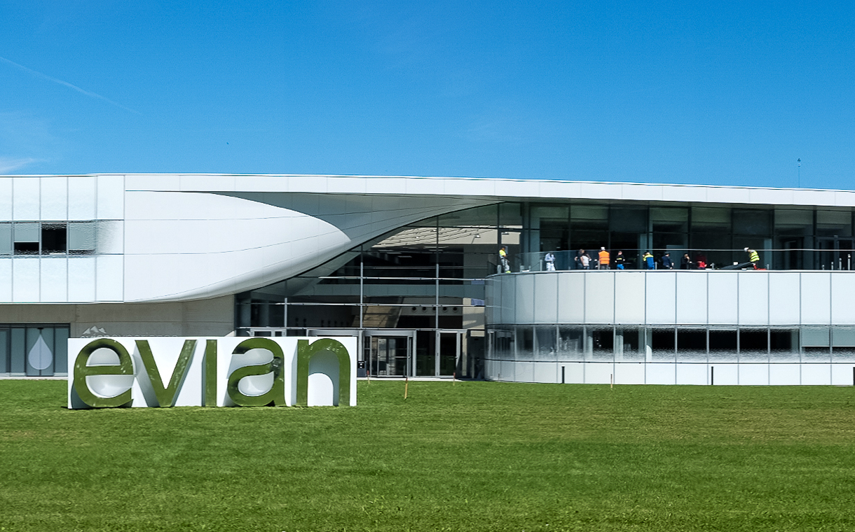 Evian opens carbon-neutral production facility in France