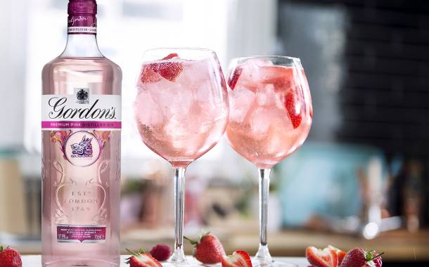 Diageo targets younger audience with Gordon's premium pink gin