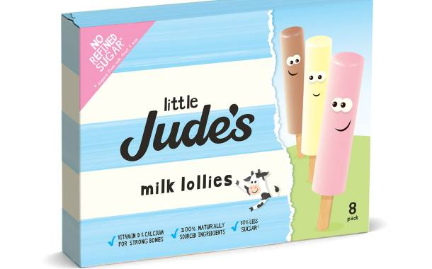 Jude's launches Little range of low-sugar milk lollies in the UK