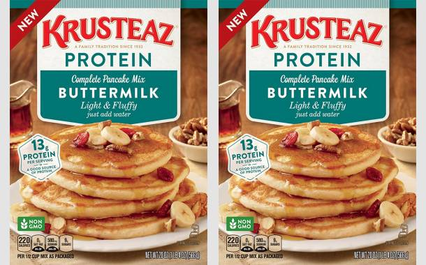 Continental Mills adds Krusteaz Butter Protein Pancake mix