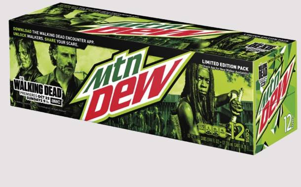 Mountain Dew announces The Walking Dead collaboration