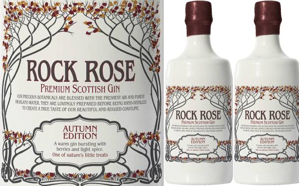 Dunnet Bay Distillers unveils Autumn Edition Rock Rose gin