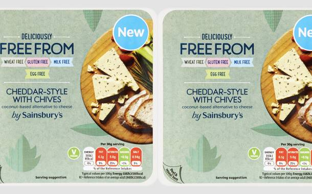 Sainsbury's launches new vegan cheeses as part of its Gary range