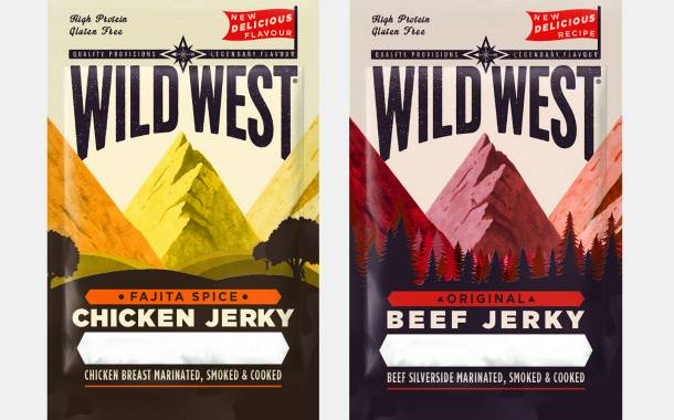 Meatsnacks Group introduces new Wild West Jerky flavours