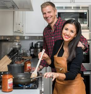 Mizkan has enlisted The Bachelor's Sean and Catherine Lowe to champion the range.