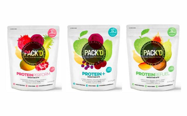 Pack'd launches high-protein range of frozen smoothie kits