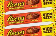 Reese's Outrageous chocolate bars introduced by Hershey