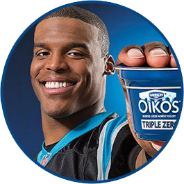 Newton had, at one point, been an integral part of Oikos' marketing.