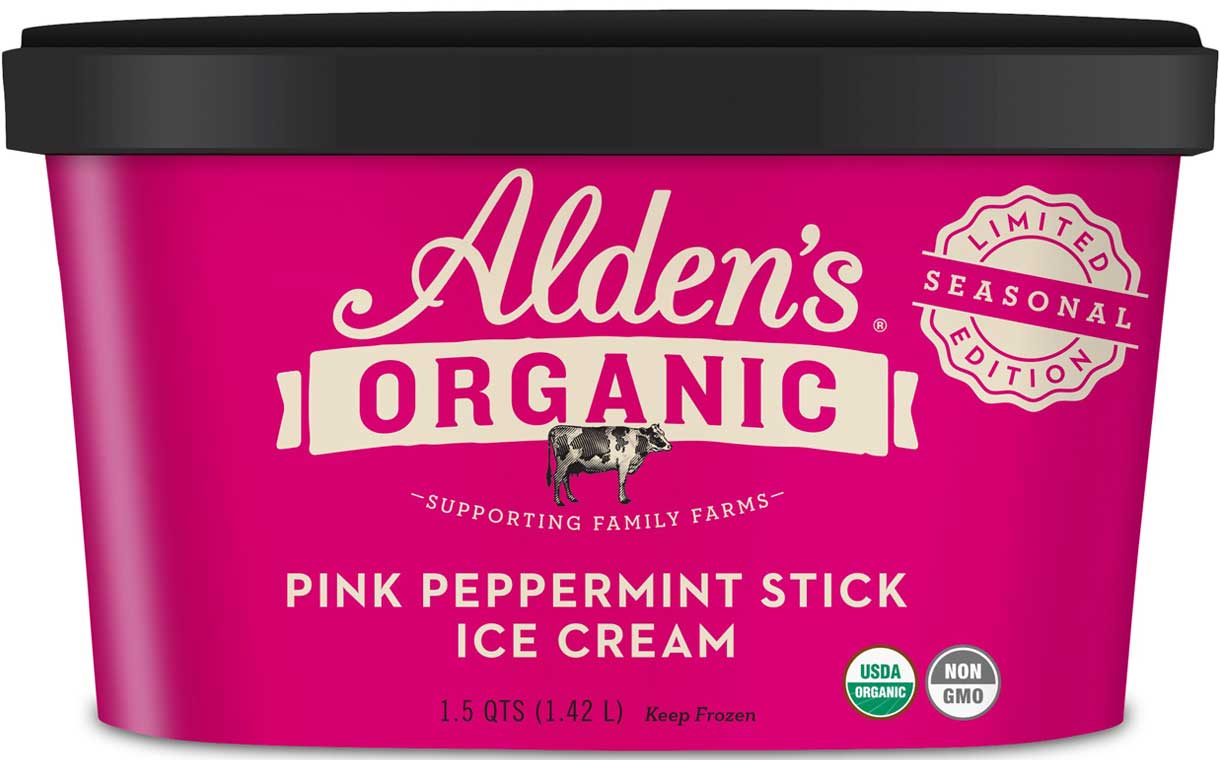 Alden's Organic Ice Cream adds two new seasonal flavours