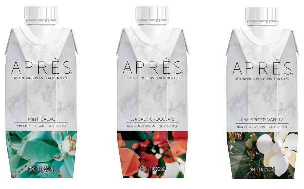 Après debuts line of protein drinks with coconut water and oil