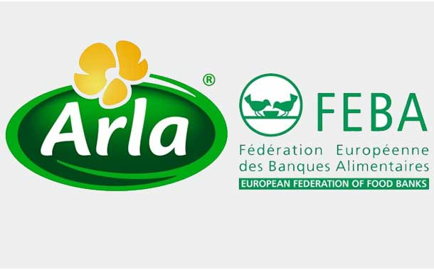 Arla partners with food banks to halve its food waste by 2020