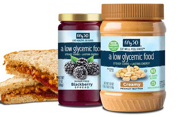Fifty50 Foods updates packaging for its low-glycemic portfolio