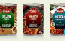 Grant's Foods launches Italian, Spanish and Mexican chillis