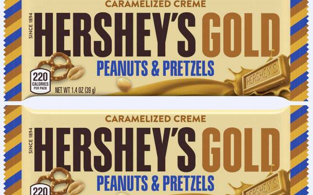 The Hershey Company unveils its latest flavour, Hershey's Gold