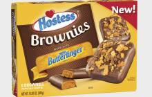 Hostess and Nestlé team up for new Butterfinger brownie bars