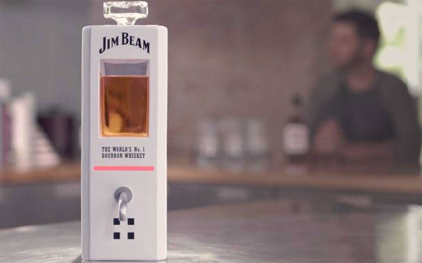 Beam Suntory launches voice-activated Jim Beam decanter