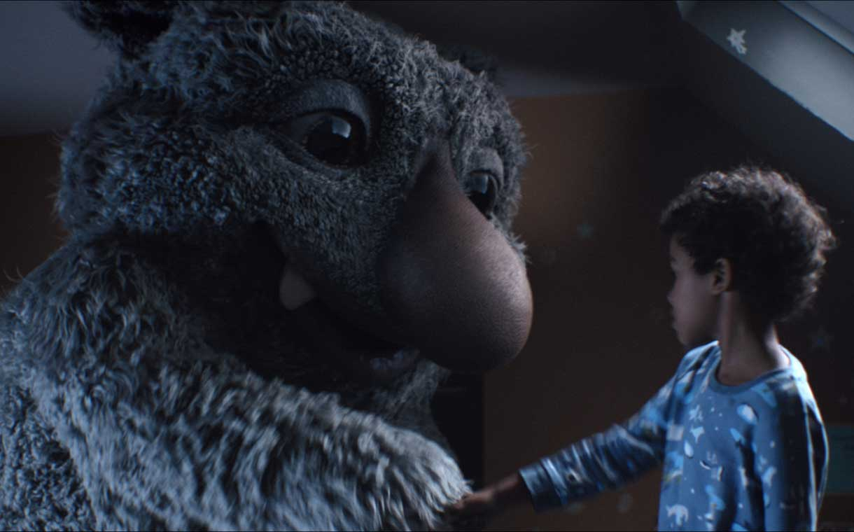 John Lewis unveils Christmas advert featuring Moz the monster