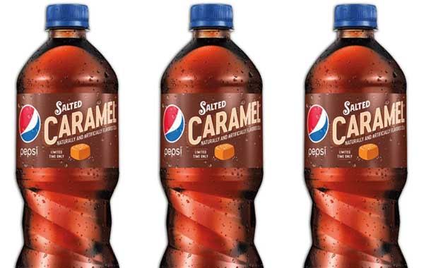 Pepsi launches holiday flavours including salted caramel in US