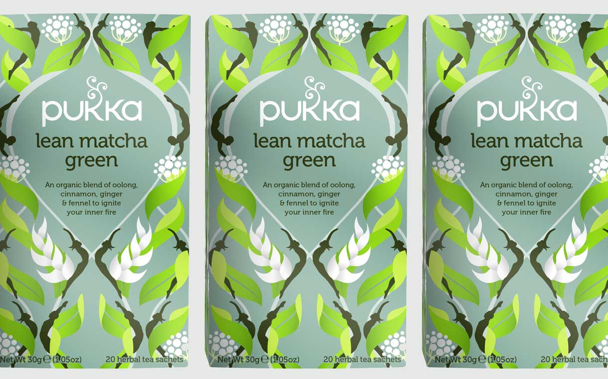 Lean matcha green: Unilever's Pukka Herbs launches new tea