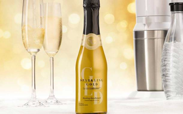 SodaStream launches Sparkling Gold alcoholic concentrate