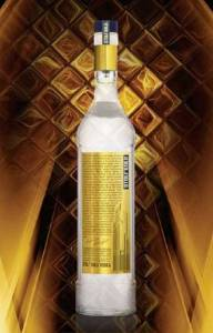 Stoli Gold bottle