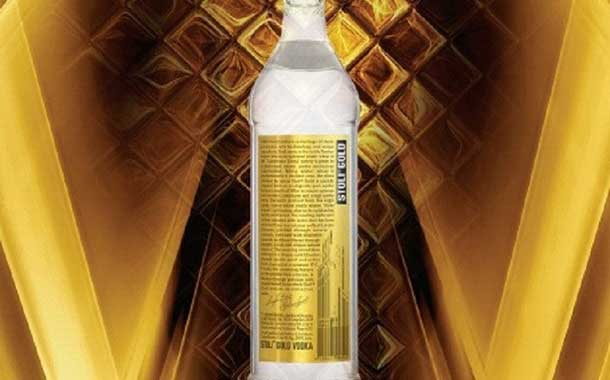 Stoli Group introduces updated bottle design for Stoli Gold vodka