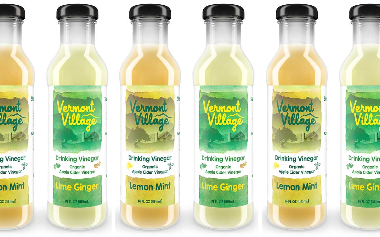 Vermont Village introduces line of apple cider drinking vinegars