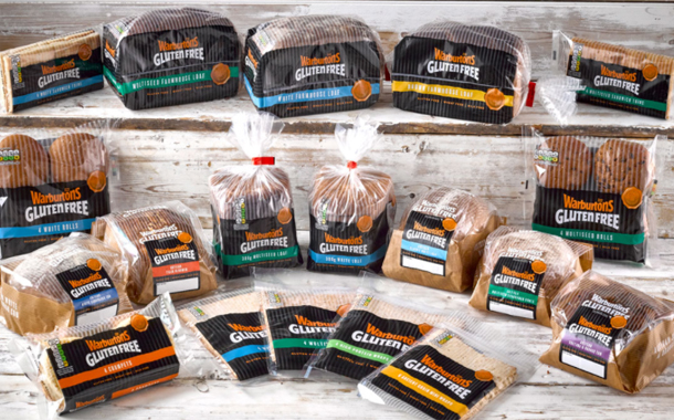 Warburtons introduces rebranding for gluten free range