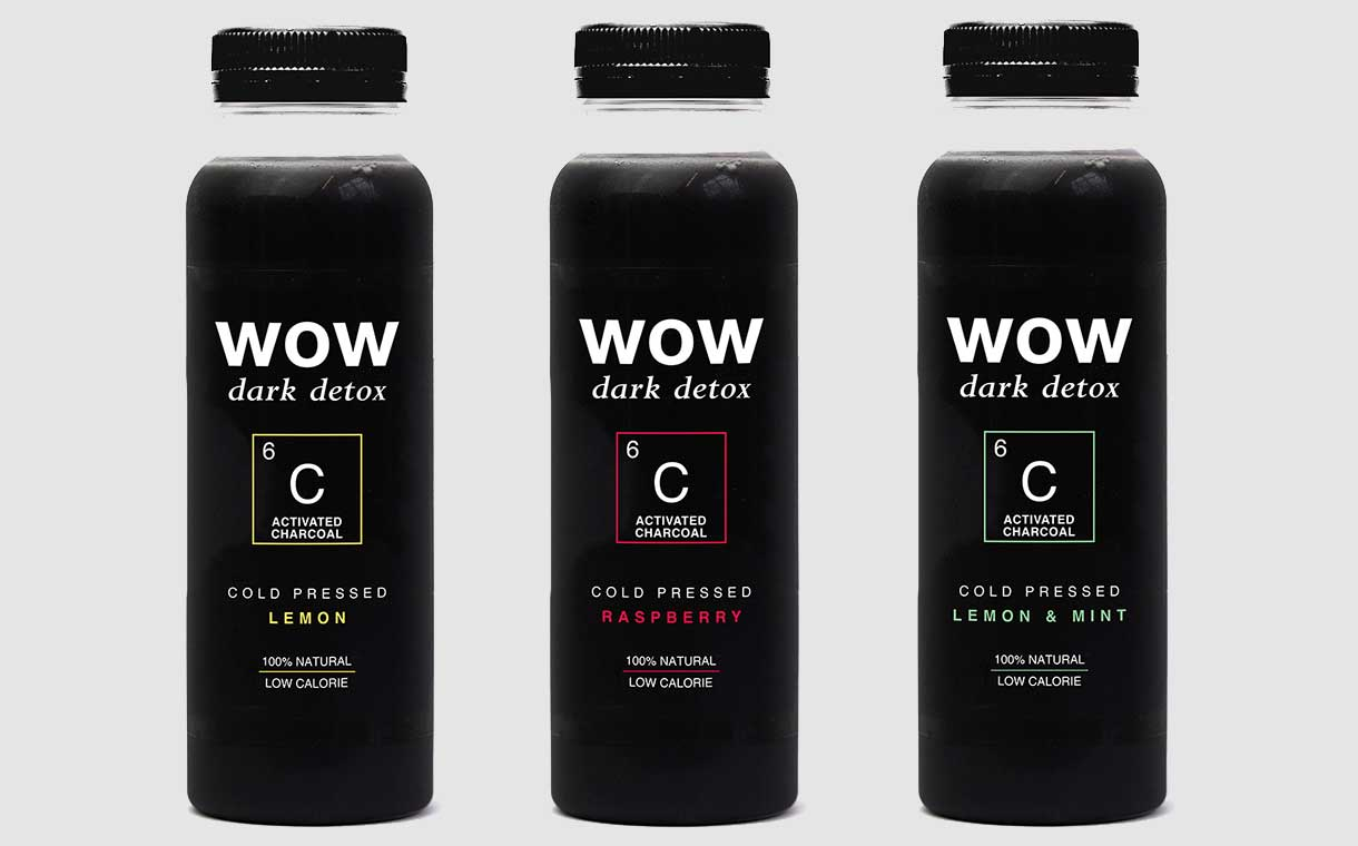 Wow adds activated charcoal beverage to its functional range